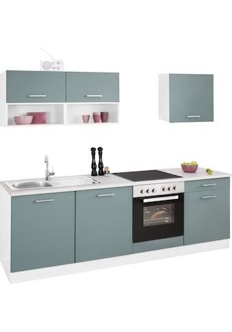 HELD MÖBEL Küchenzeile »Visby«, ohne E-Geräte, Breite 240 cm kaufen