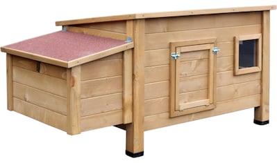 DOBAR Hühnerstall »Hertha«, mit Legebox, 146 x 76 x 82 cm kaufen