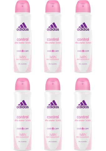 adidas Performance Deo-Spray »Control«, (Spar-Set, 6 tlg.), Anti-Transpirant Spray für... kaufen