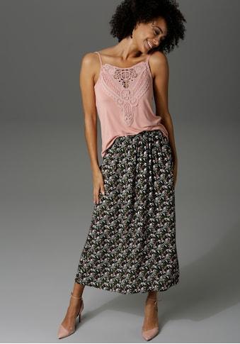 Aniston CASUAL Sommerrock, mit Blumendruck kaufen