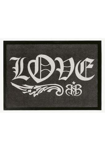 Rock STAR Baby Fußmatte »804«, rechteckig, 2 mm Höhe, Schmutzfangmatte, mit Spruch,... kaufen