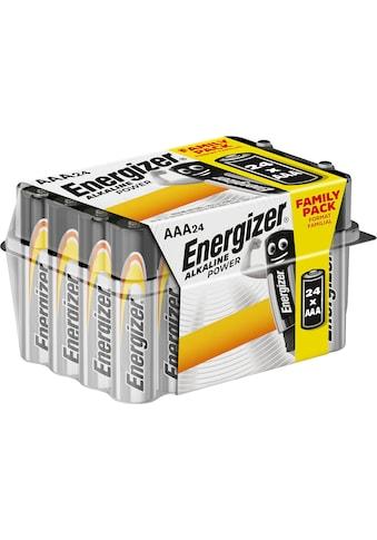Energizer »Alkaline Power AAA Batterien 24er Box« Batterie kaufen