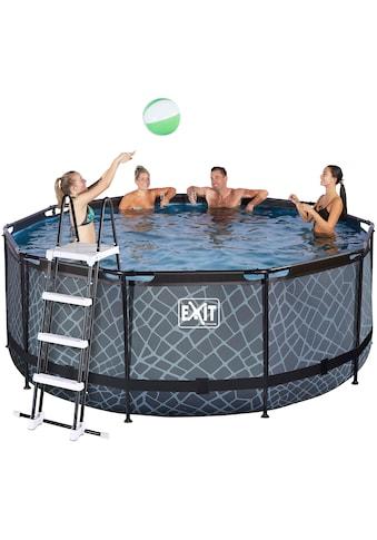 EXIT Framepool, (Set), ØxH: 360x122 cm, mit Sandfilter kaufen
