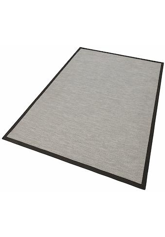 Dekowe Teppich »Naturino Color, Wunschmaß«, rechteckig, 7 mm Höhe, Flachgewebe, Sisal-Optik, mit Bordüre, In- und Outdoor geeignet, Wohnzimmer kaufen