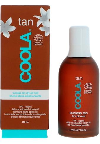 COOLA Selbstbräunungsspray »Sunless Tan Dry Oil Mist« kaufen