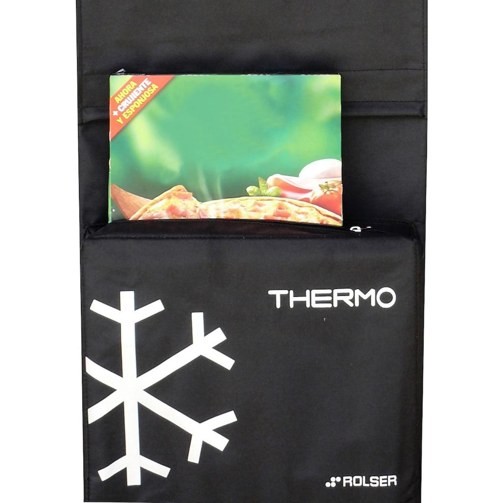 Rolser Einkaufstrolley »Dos+2 Thermo Fresh«, mit Thermofach, 4 Rollen