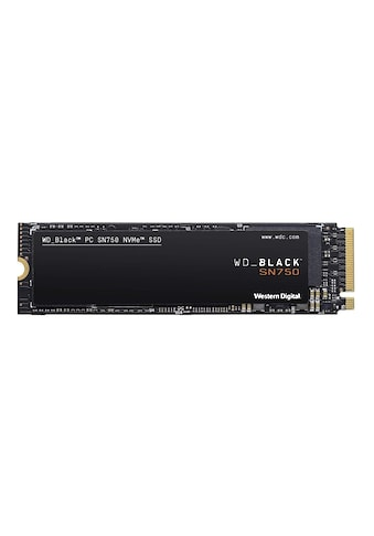 Western Digital SSD »Innovative NVMe SSD-Performance«, WD BLACK SN750 NVMe SSD kaufen