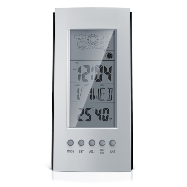 BEARWARE digitale Wetterstation inkl. Multifunktions-Wecker »mit Thermometer & Hygrometer«