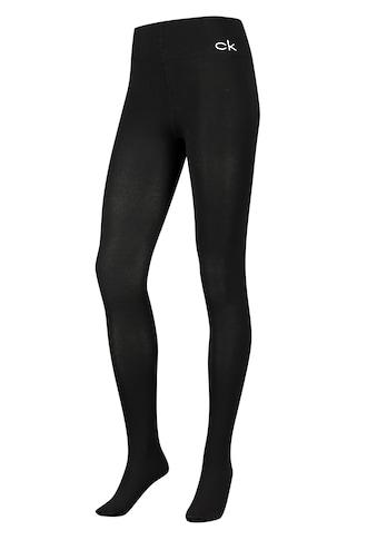 Calvin Klein Strumpfhose, mit Markenlogo am Bund kaufen