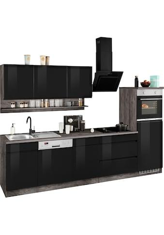 HELD MÖBEL Küchenzeile »Virginia«, ohne E-Geräte, Breite 300 cm kaufen