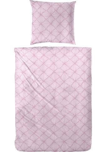 Primera Bettwäsche »Biber-Bettwäsche Rosarot«, Mit einem traumhaften rosaroten Muster kaufen