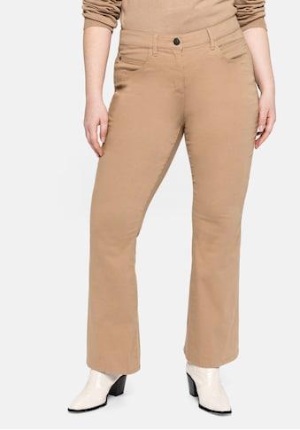 Sheego Bootcuthose, mit Ziernähten an den Gesäßtaschen kaufen