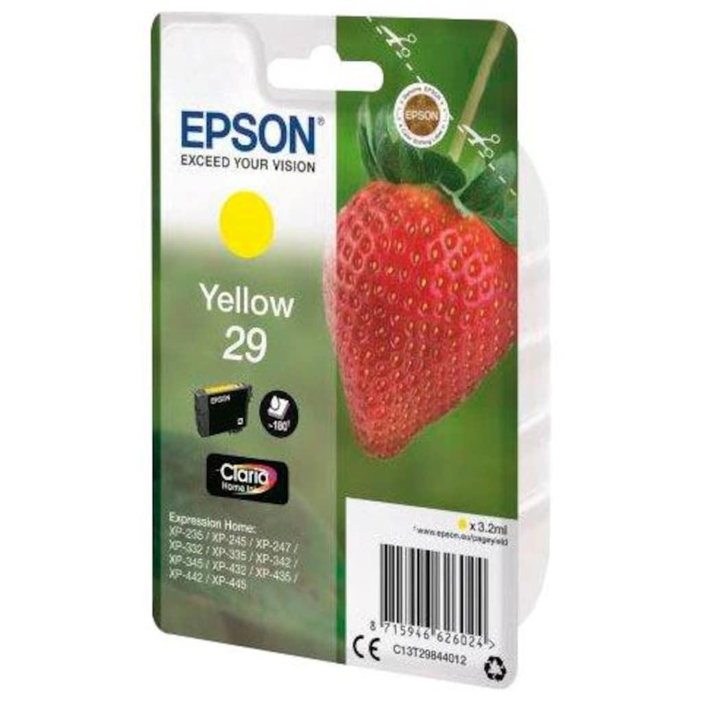 Epson »T2984 (29) gelb« Tintenpatrone (1-tlg.)