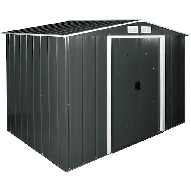DURAMAX Stahlgerätehaus »Eco 8x6«, BxTxH: 262x182x191 cm