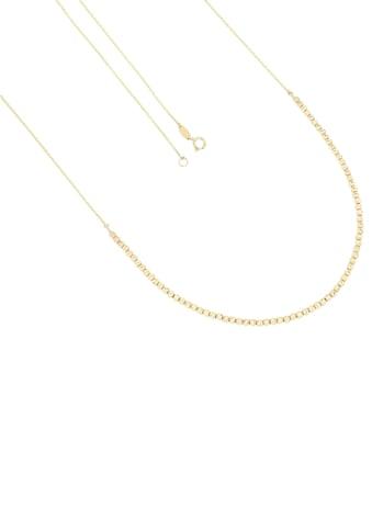 Firetti Goldkette »Anker - und Kugelkettengliederung kombiniert, 2,5 mm breit, glänzend, Diamantschnitte und spiegeldiamantiert« kaufen