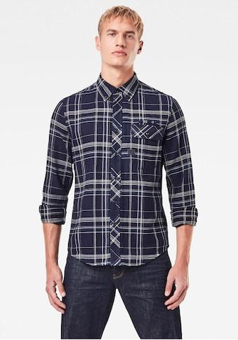 G-Star RAW Karohemd »Bristum Flap Button Down Slim Shirt« kaufen