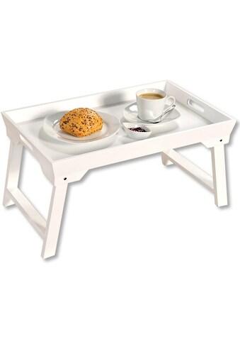 KESPER for kitchen & home Tablett »Bett-Tablett«, mit Klappfüßen kaufen