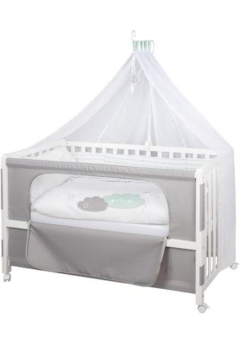roba® Babybett »Room Bed - Dekor Happy Cloud«, als Beistell-, Kinder- und Juniorbett verwendbar kaufen