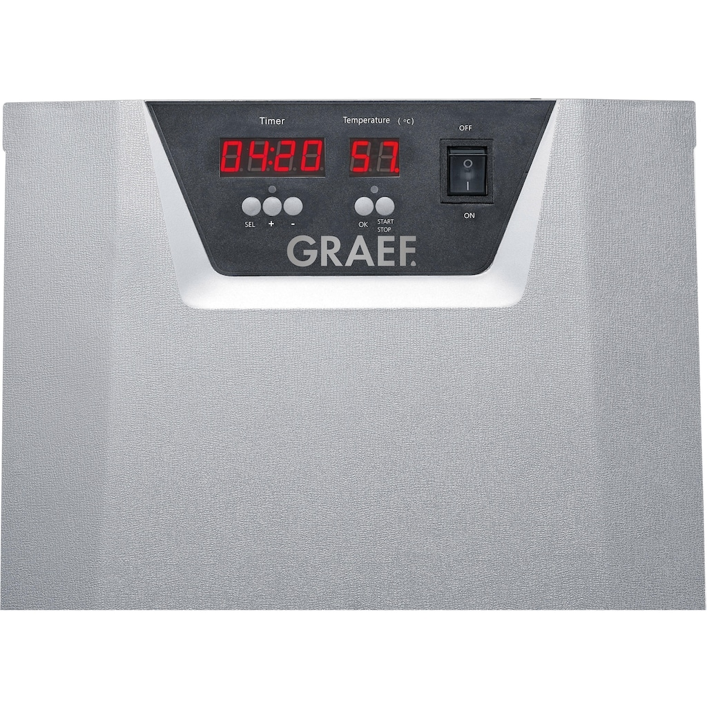Graef Dörrautomat DA 508, 630 Watt, 8 Etagen