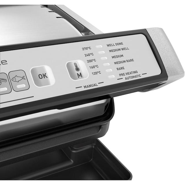 Tefal Kontaktgrill GC707D OptiGrill Deluxe, 2000 Watt