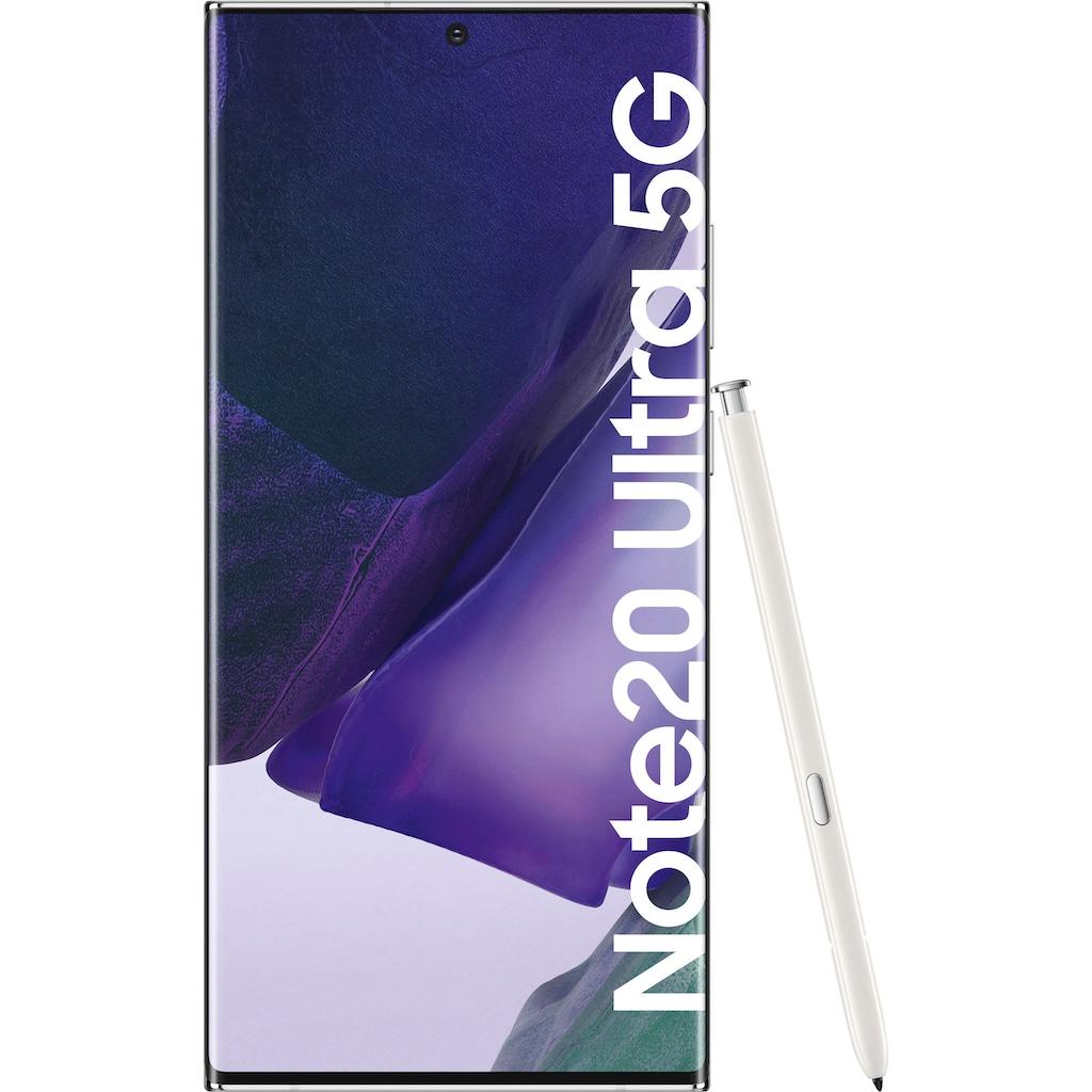 "Samsung Smartphone »Galaxy Note20 Ultra 5G«, (17,45 cm/6,9 "", 256 GB Speicherplatz, 108 MP Kamera)"