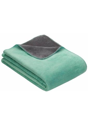 IBENA Wohndecke »Doubleface Dublin«, einfarbig kaufen