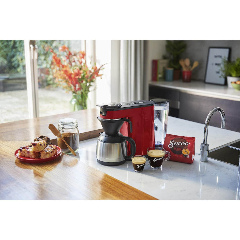 Senseo Kaffeepadmaschine »SENSEO® Switch HD6592/80«, Papierfilter
