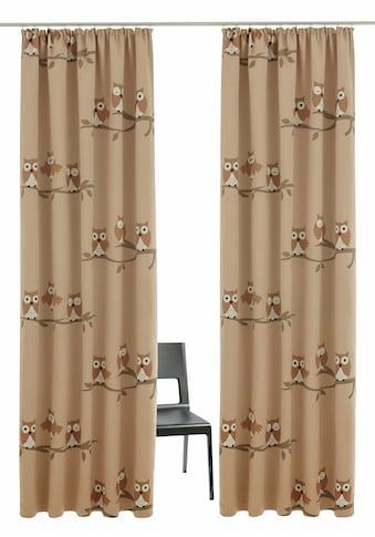 my home Verdunkelungsvorhang »Linea«, Vorhang, Gardine, Fertiggardine, verdunkelnd kaufen