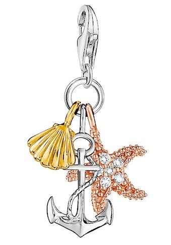 THOMAS SABO Charm-Einhänger »Sommer/Strand, 0919-425-14«, mit Zirkonia kaufen