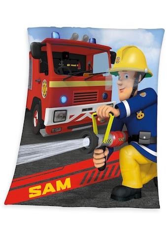 Feuerwehrmann Sam Kinderdecke »Feuerwehrmann Sam«, weiche Qualität kaufen