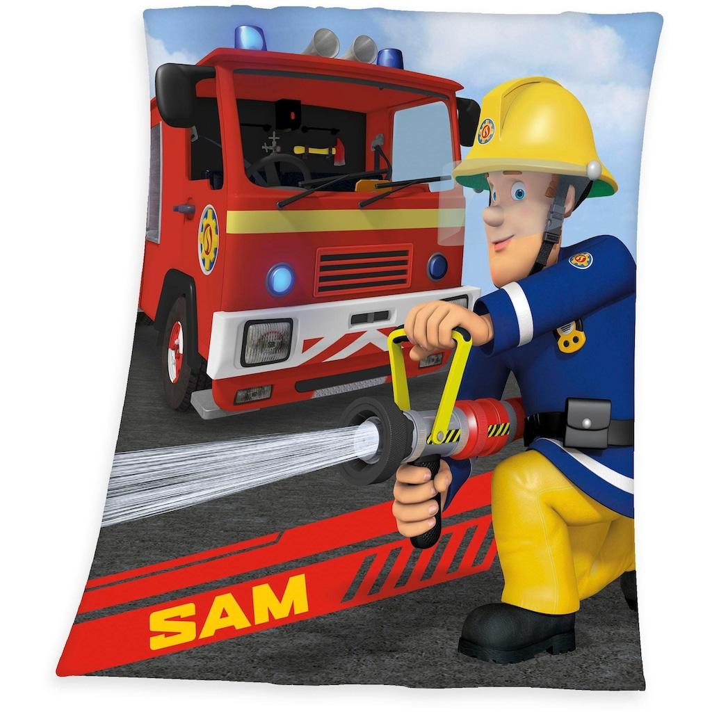 Feuerwehrmann Sam Kinderdecke »Feuerwehrmann Sam«, weiche Qualität