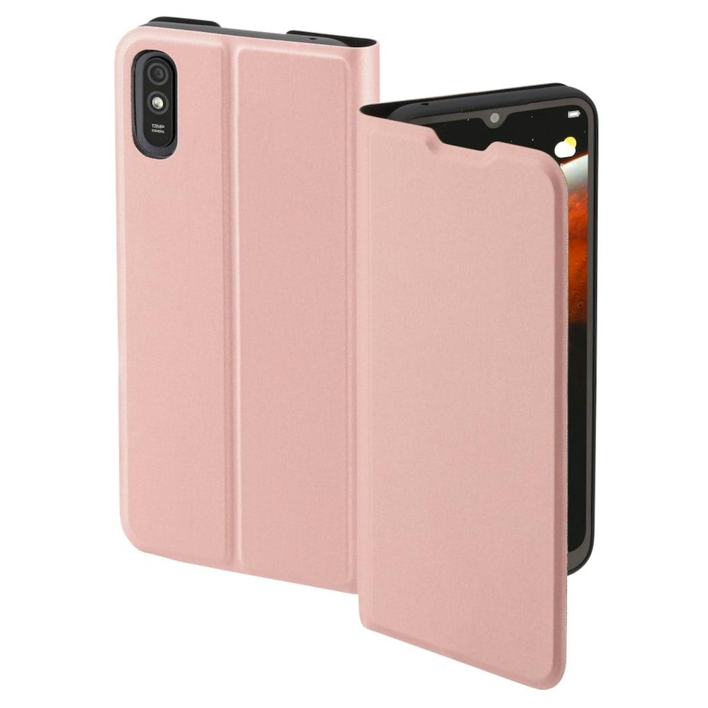 """Hama Handytasche »Smartphone-Booklet Tasche«, """"Single2.0"""" für Xiaomi Redmi 9A, Rosa"""