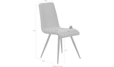 Mayer Sitzmöbel Esszimmerstuhl »myDERBY« kaufen