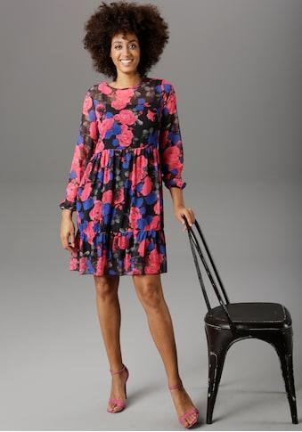 Aniston SELECTED Partykleid, mit Rüsche - NEUE KOLLEKTION kaufen
