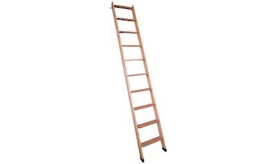 DOLLE Leiter für Hochbetten, für Geschosshöhen bis 245 cm, 40 cm breit kaufen