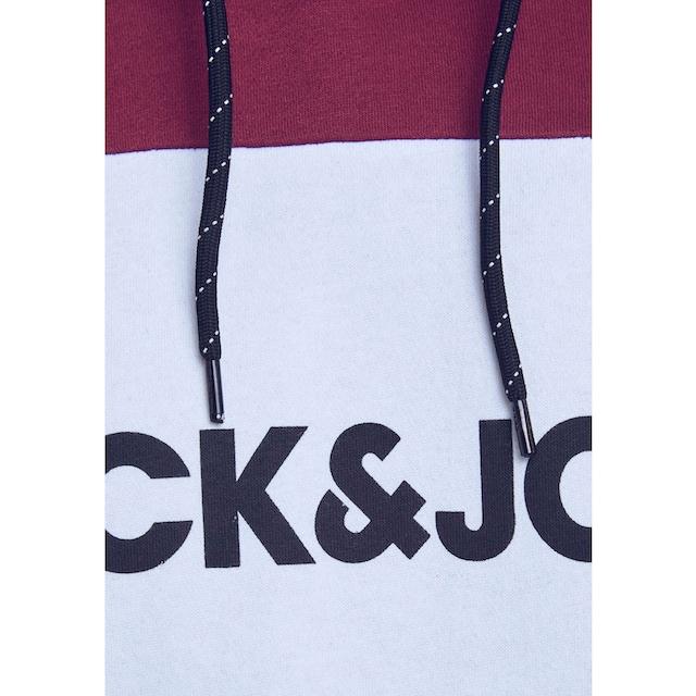 Jack & Jones Kapuzensweatshirt »LOGO BLOCKIN«