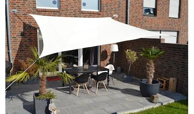 FLORACORD Sonnensegel , BxL: 360x360 cm, cremeweiß kaufen