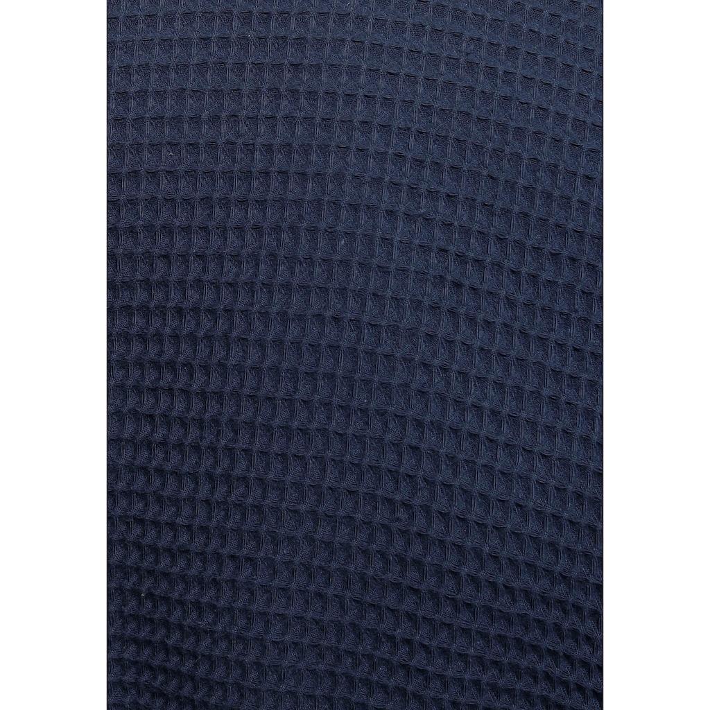 andas Unisex-Bademantel »Nora«, in leichtem Waffel-Piquee