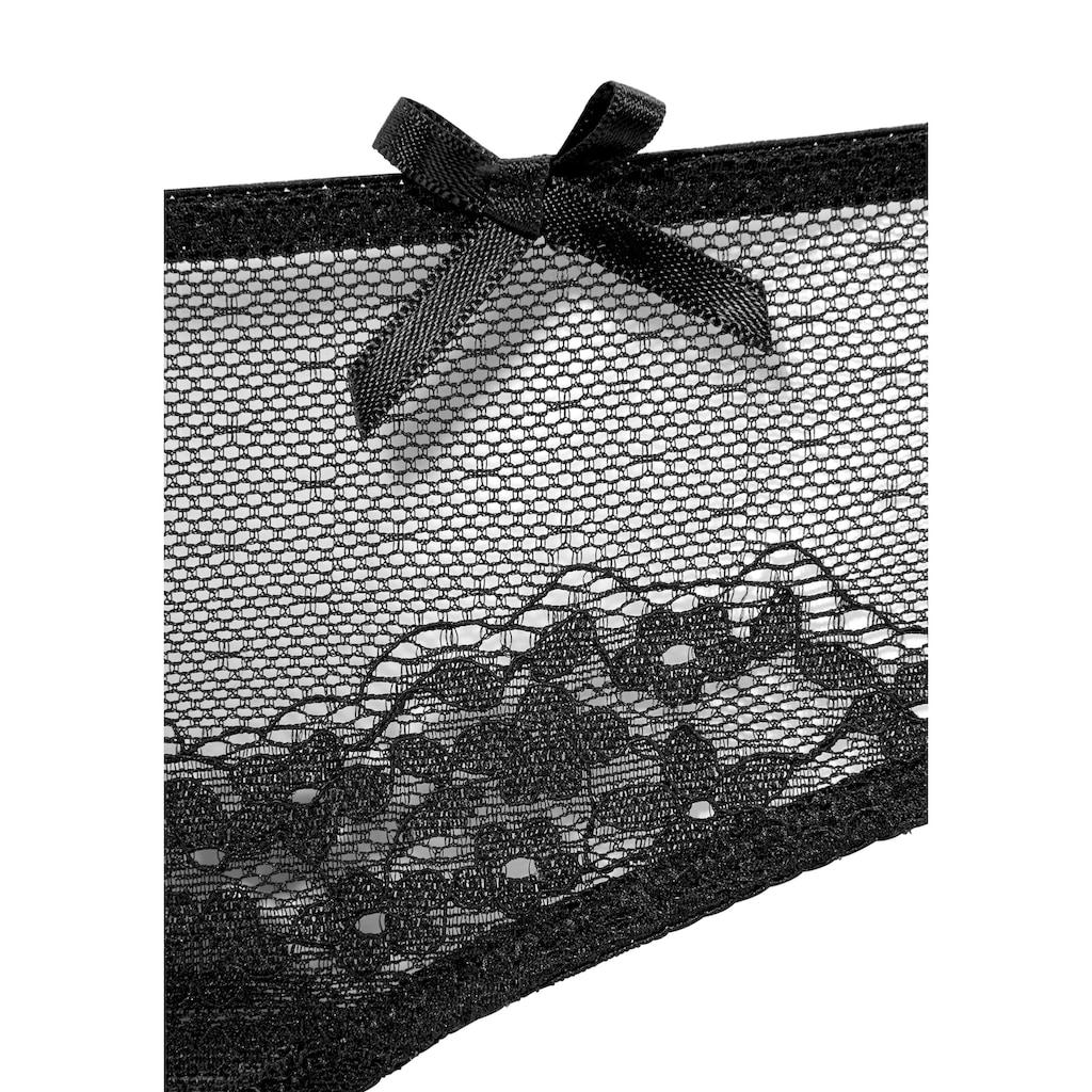 LASCANA String, aus transparenter Spitze