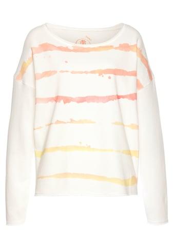 Herrlicher Langarmshirt »BELICIA«, im Streifen-Design kaufen