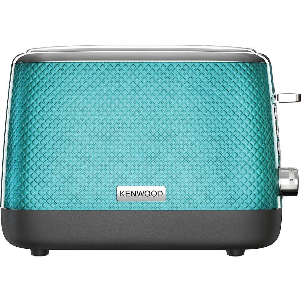 KENWOOD Toaster »Mesmerine TCM811.BL«, für 2 Scheiben, 1000 Watt