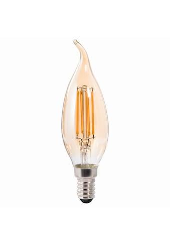 Xavax LED-Filament, E14, 400lm ersetzt 35W, Vintagelampe Kerze kaufen