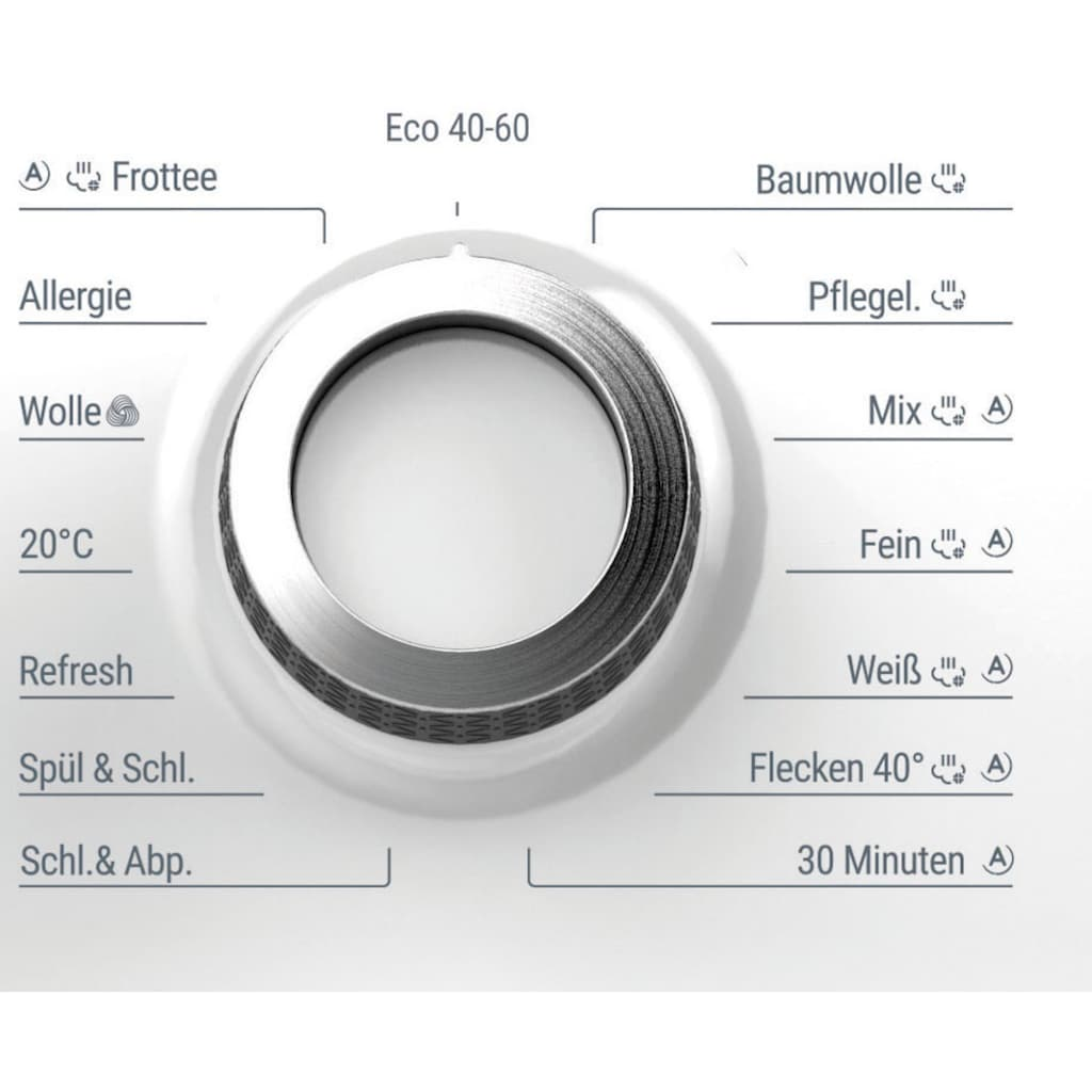 BAUKNECHT Waschmaschine »WM Elite 816 C«, WM Elite 816 C, 8 kg, 1600 U/min