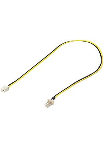 Goobay PC Lüfter »Stromkabel/Stromadapter; 3 Pin zu 2 Pin« kaufen