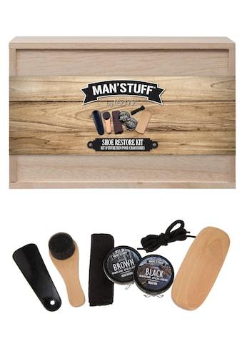 MAN'STUFF Schuhpflege - Set, «Shoe Kit», 7 - tlg.) kaufen