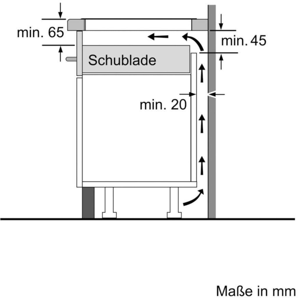 SIEMENS Flex-Induktions-Kochfeld von SCHOTT CERAN® »ED645FQC5E«, ED645FQC5E