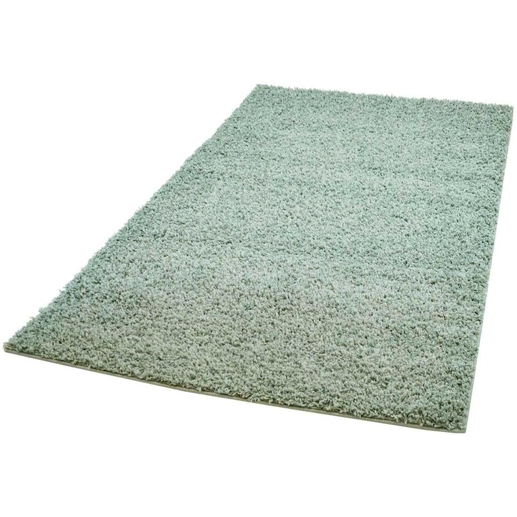 Hochflor-Teppich, »Pastell Shaggy300«, Carpet City, rechteckig, Höhe 30 mm, maschinell gewebt