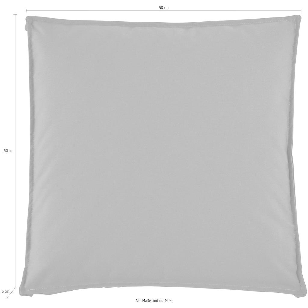 H.O.C.K. Stuhlkissen »Classic Uni Outdoor«, 50/50/5 cm
