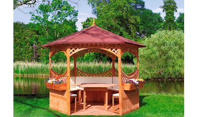 PROMADINO Pavillon - Set »Palma«, BxT: 326x326 cm kaufen