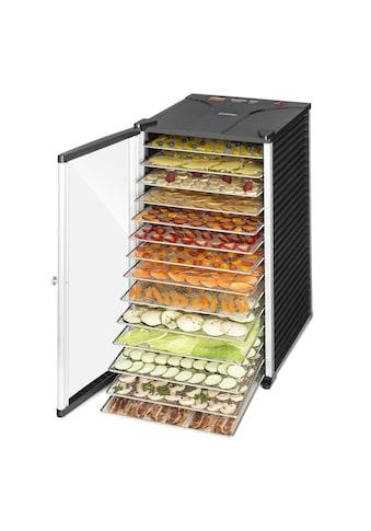 Klarstein Dörrautomat 14 Edelstahl - Etagen Dörrgerät Dehydrator »FruitJerky 14« kaufen
